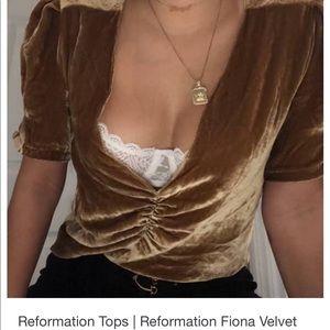 Reformation Fiona top
